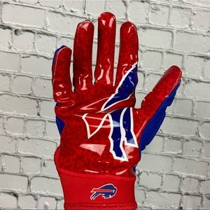 Nike Superbad 5.0 NY Buffalo Bills NFL Gloves (L)